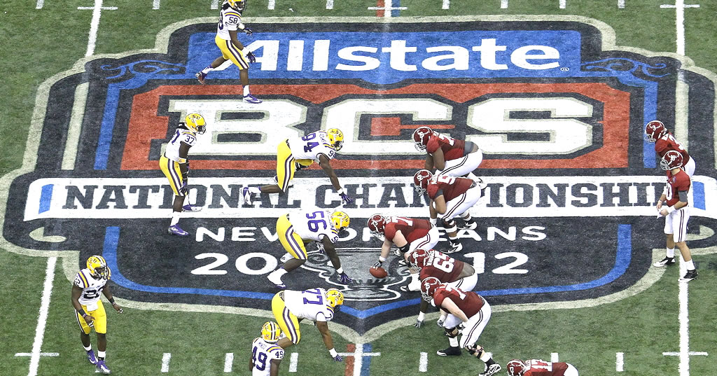 REMATCH ON: Alabama vs LSU In BCS Championship
