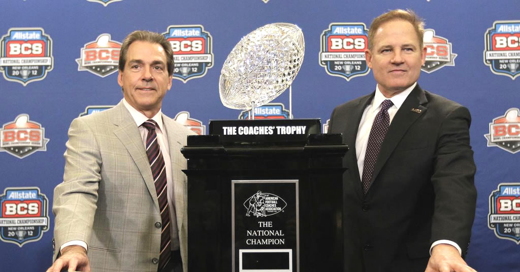 5 SEC teams in top 8 of latest BCS Poll