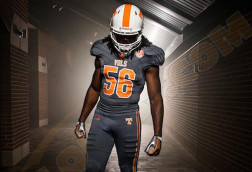 Photo: Tennessee football new smokey-colored uniforms
