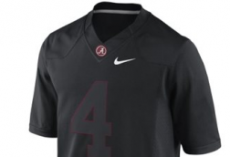 PHOTO: Internet goes crazy over potential black Alabama uniforms