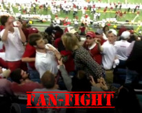 Video: Alabama fan goes crazy on Oklahoma fan during the Sugar Bowl