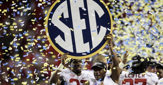 NCAA Football: SEC Championship-Alabama vs Georgia