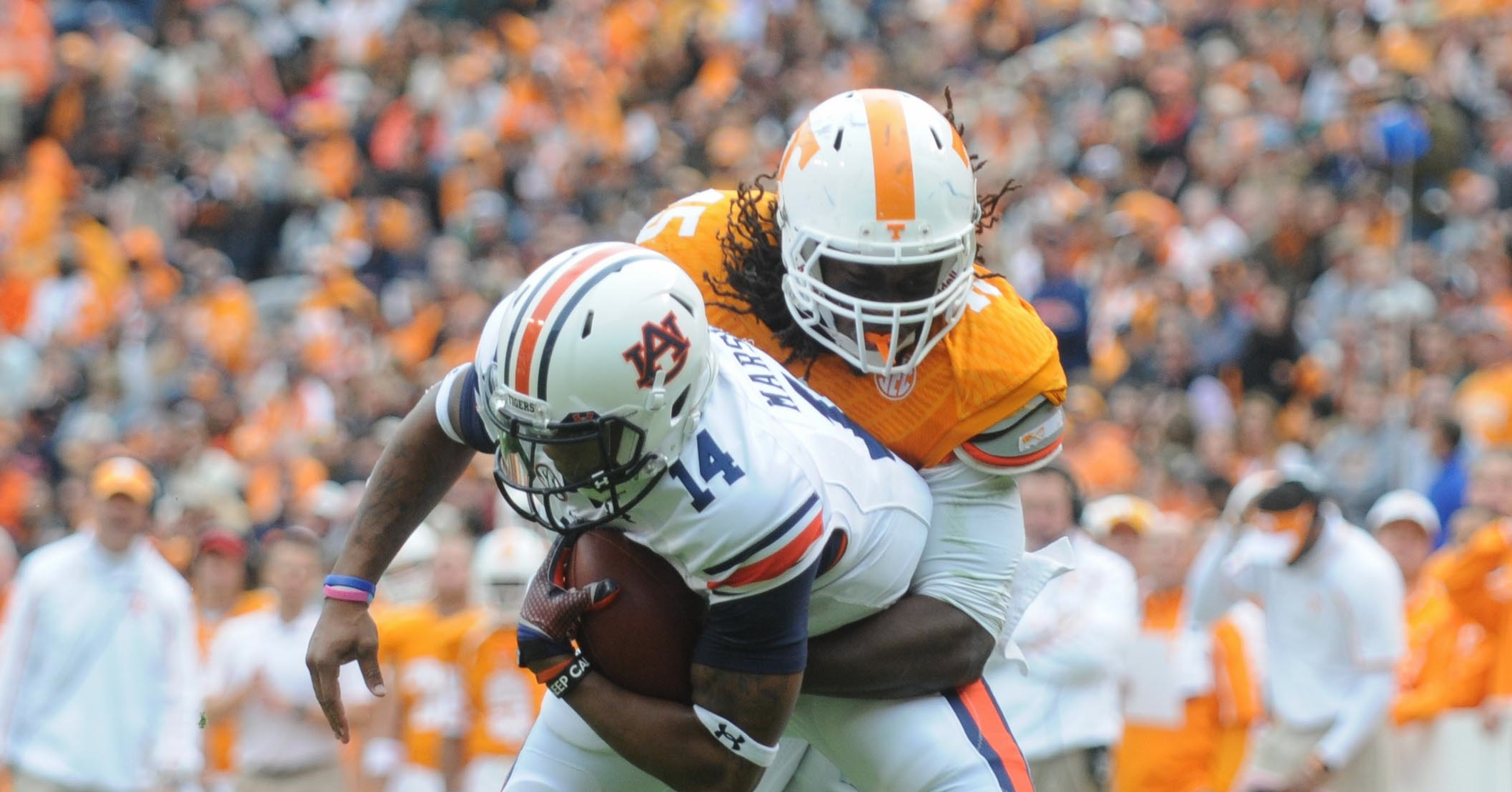 NCAA Football: Auburn at Tennessee