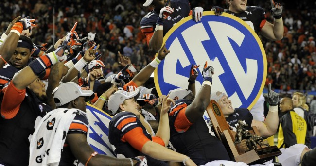 NCAA Football: SEC Championship-Missouri vs Auburn