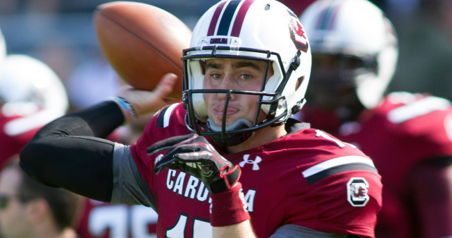 NCAA Football: Mississippi State at South Carolina
