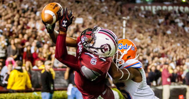 NCAA Football: Florida at South Carolina