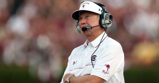NCAA Football: Texas A&M at South Carolina