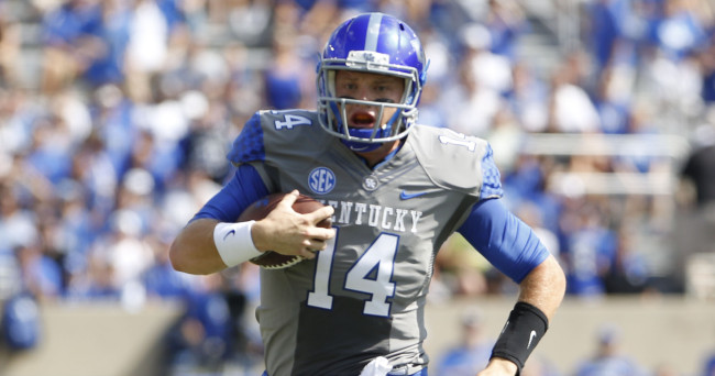 Kentucky quarterback Towles vows to get tattoo if Cats ...