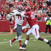 NCAA Football: Nicholls State at Arkansas
