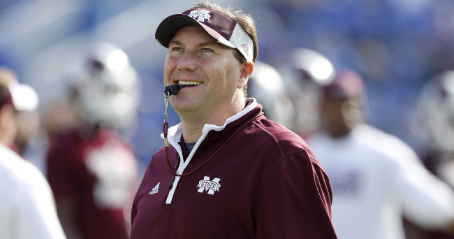NCAA Football: Mississippi State at Kentucky
