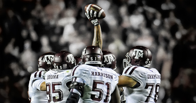 NCAA Football: Texas A&M at Auburn