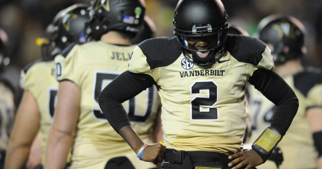 NCAA Football: Florida at Vanderbilt