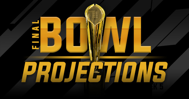 Final SEC Bowl Projections