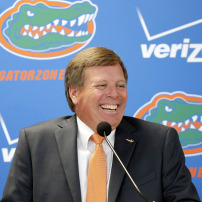 NCAA Football: Florida-Press Conference