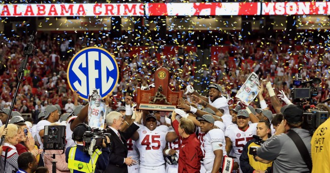 the first football game college football championship score