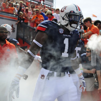 NCAA Football: Arkansas at Auburn