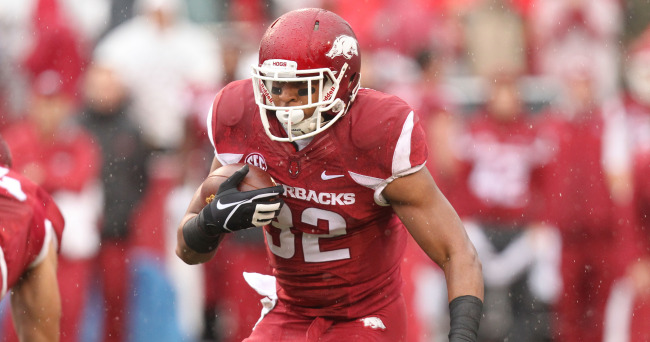 NCAA Football: Mississippi at Arkansas