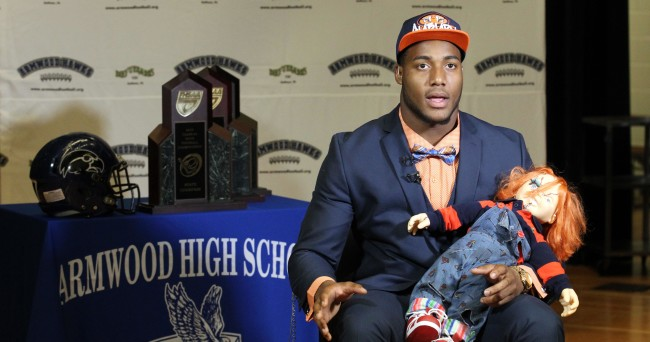 High School Football: National Signing Day-Byron Cowart