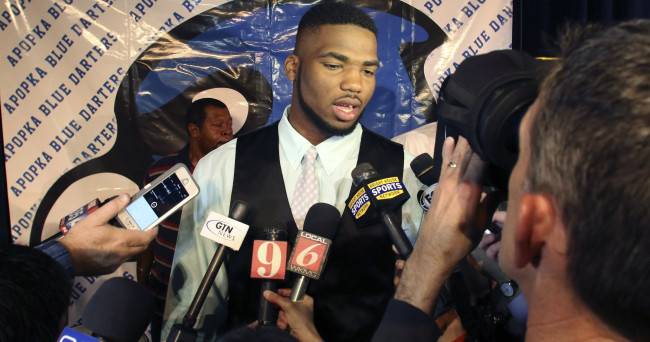 High School Football: National Signing Day-Martez Ivey
