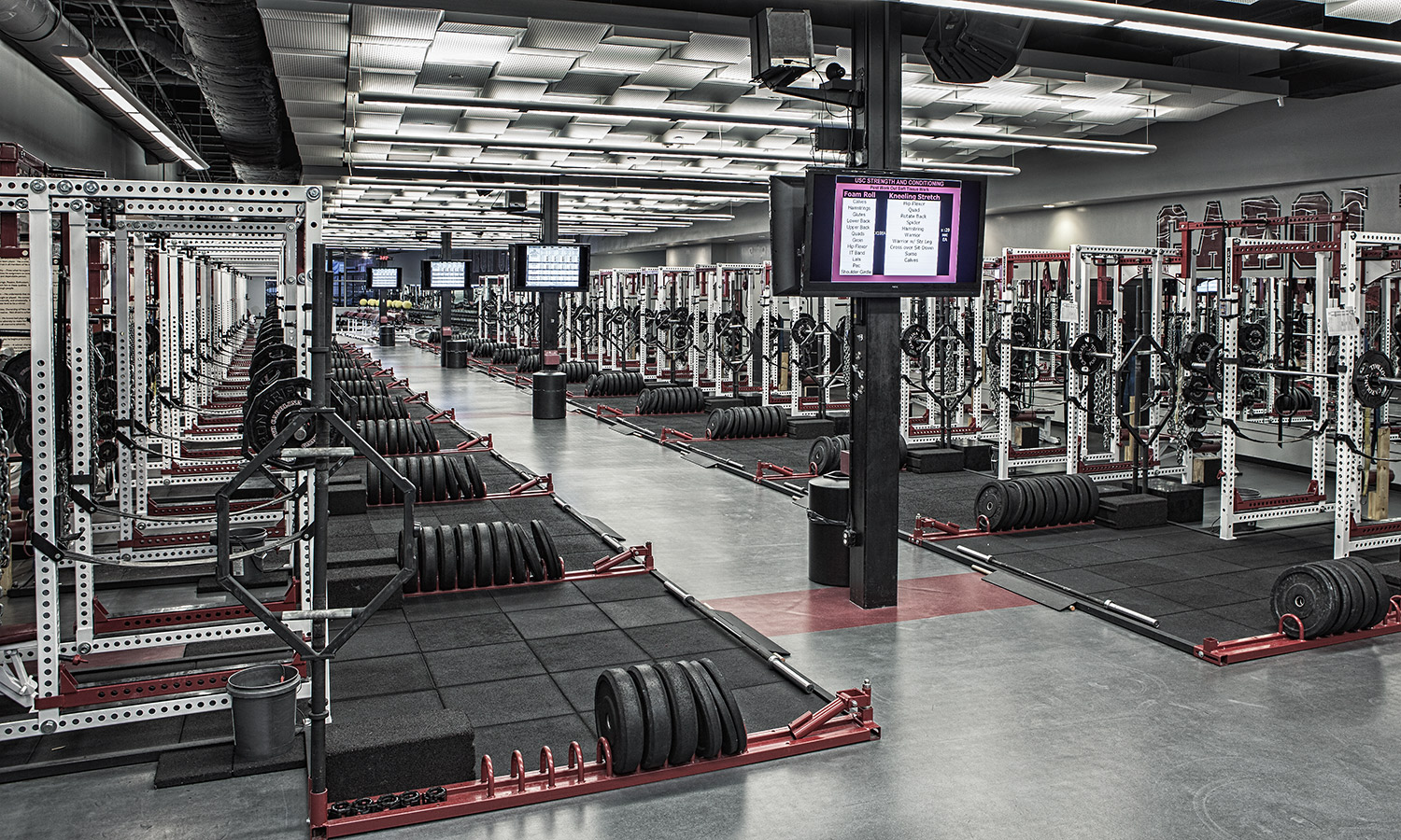New Texas Weight Room