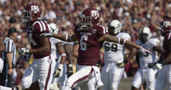 NCAA Football: Vanderbilt at Texas A&M
