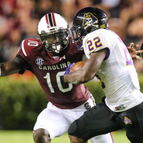NCAA Football: East Carolina at South Carolina