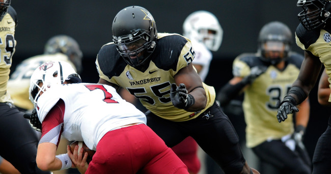 NCAA Football: Massachusetts at Vanderbilt