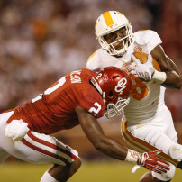 NCAA Football: Tennessee at Oklahoma