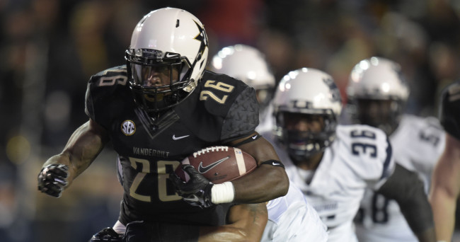 NCAA Football: Old Dominion at Vanderbilt