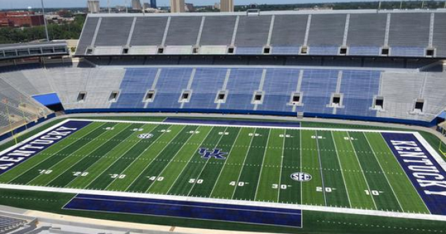 Photos Kentucky Unveils Upgrades To Commonwealth Stadium