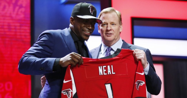 Jerseys NFL Sale - Former Florida S Keanu Neal beats all first-rounders to agree to ...