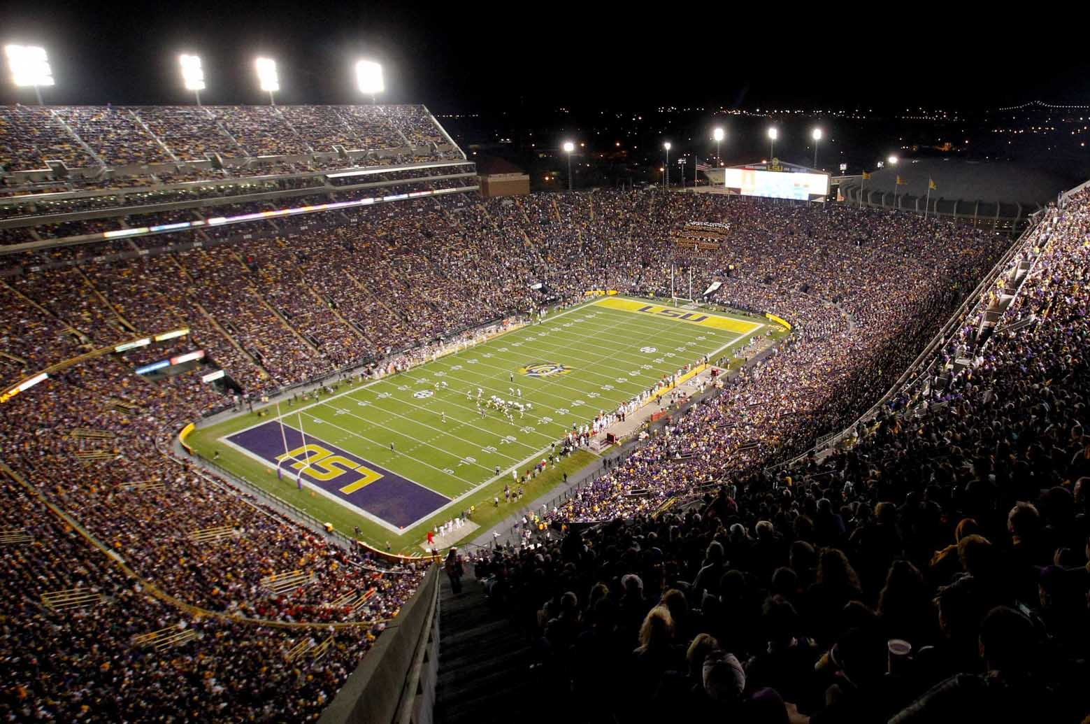 Ranking The Sec S Football Stadiums Saturday Down South