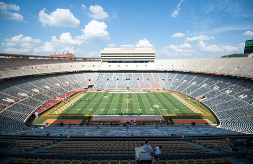 College Football Stadiums Among Some Of The Biggest In The