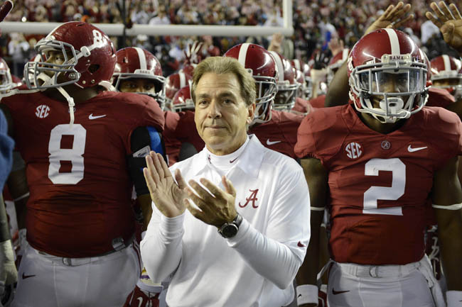nick saban bio information and history