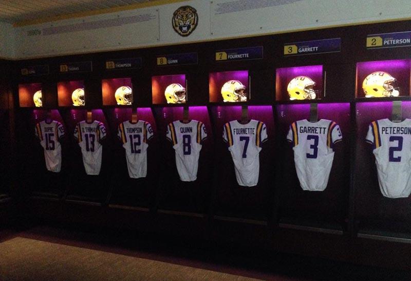 PHOTOS: LSU unveils locker room renovations