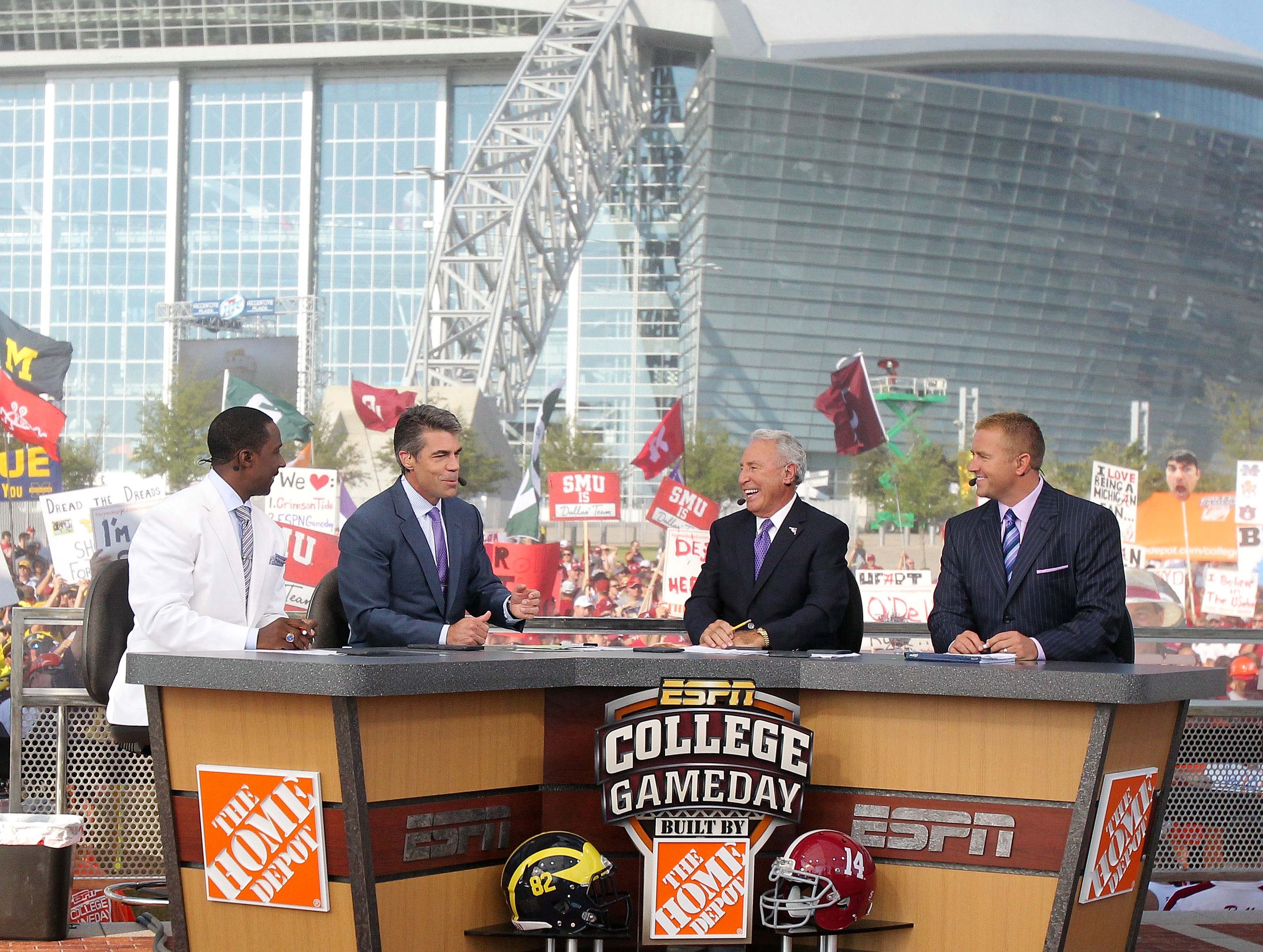 College GameDay Analysts Make SEC College Football