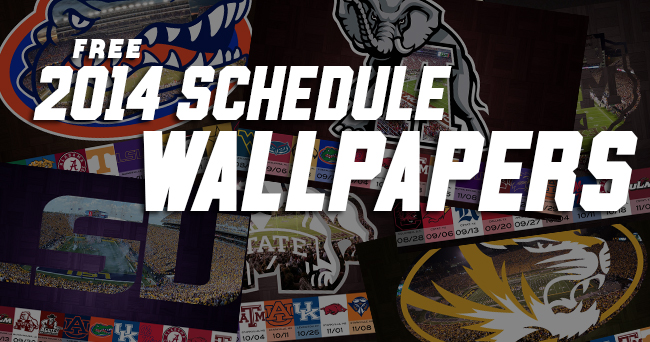 FREE 2014 Schedule Wallpapers!