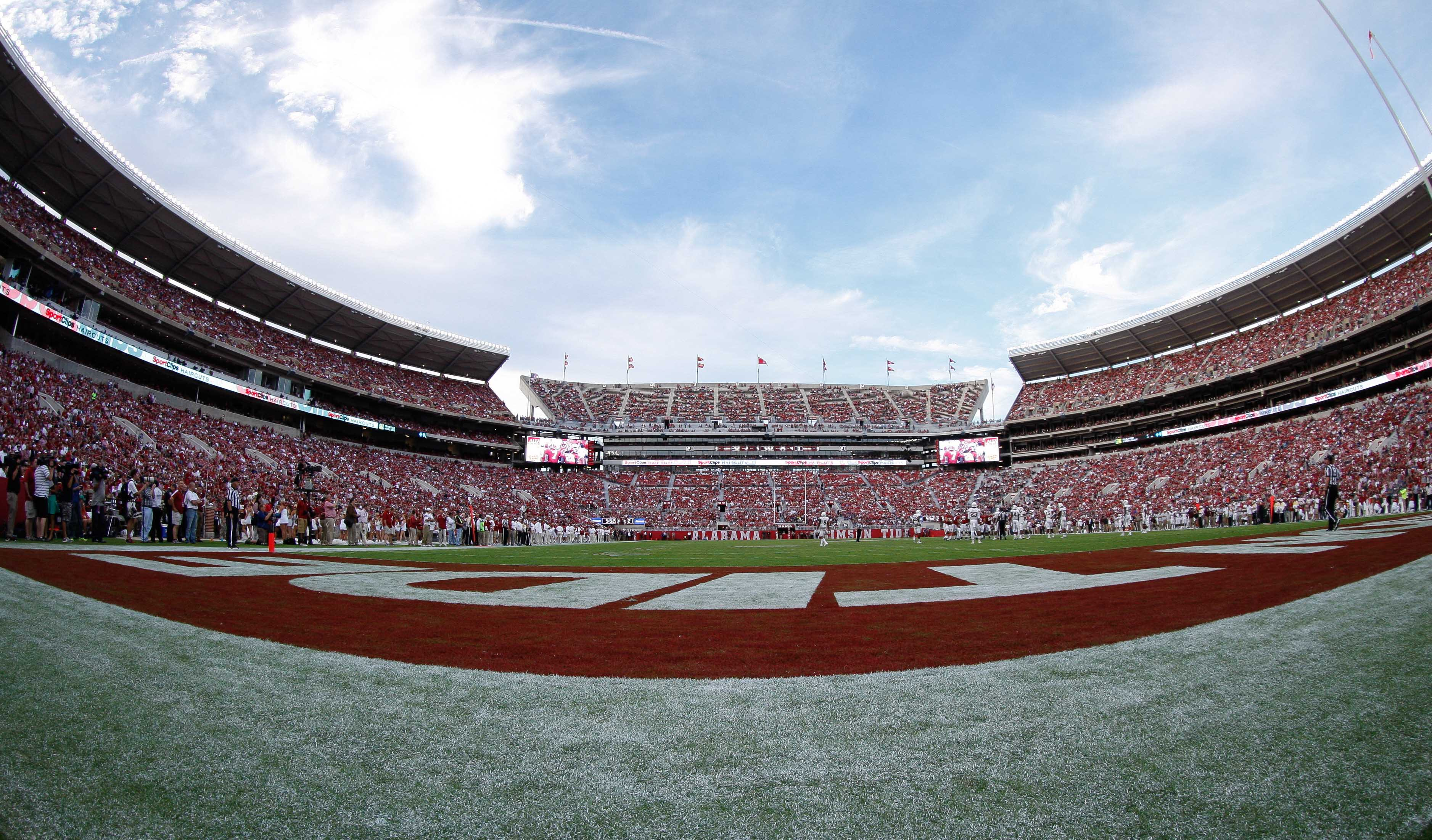 Image result for bryant denny stadium 2017