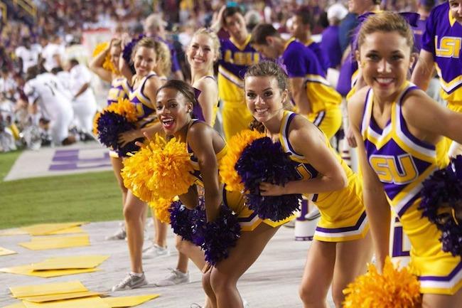 Image result for lsu cheerleader
