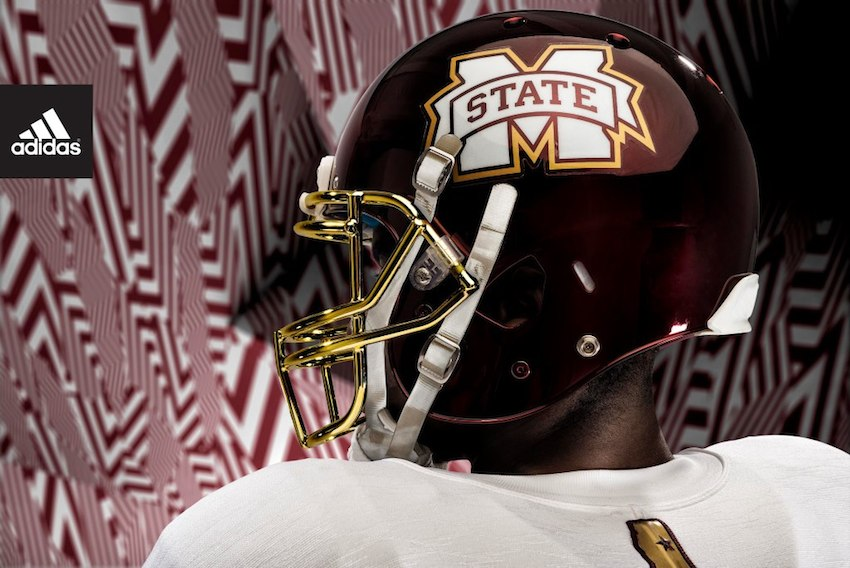 8837555fa92 Photos  Mississippi State unveils new Egg Bowl uniforms