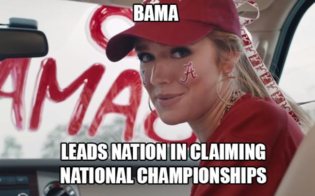 Hot Alabama Fan sec championship game memes