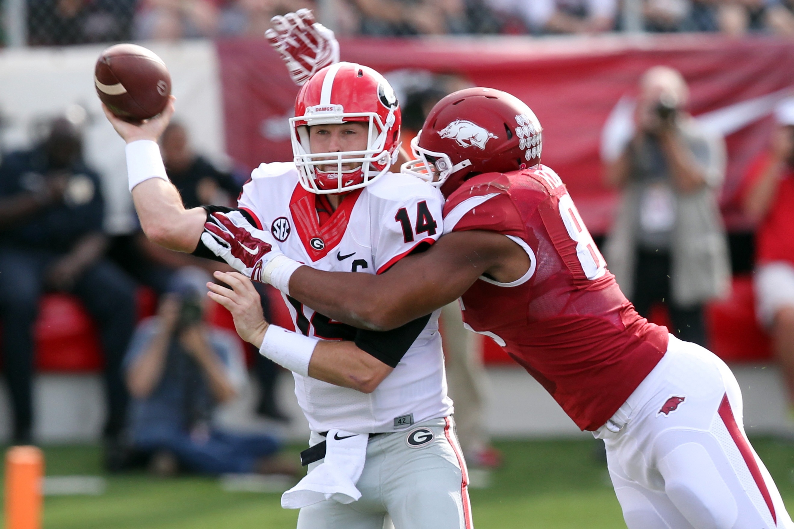 Arkansas DE Trey Flowers snubbed from All SEC team