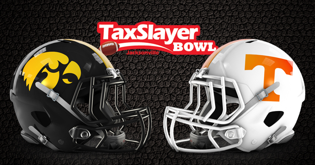 Ncaa Football Bowl Schedule >> Tennessee to battle Iowa in TaxSlayer Bowl