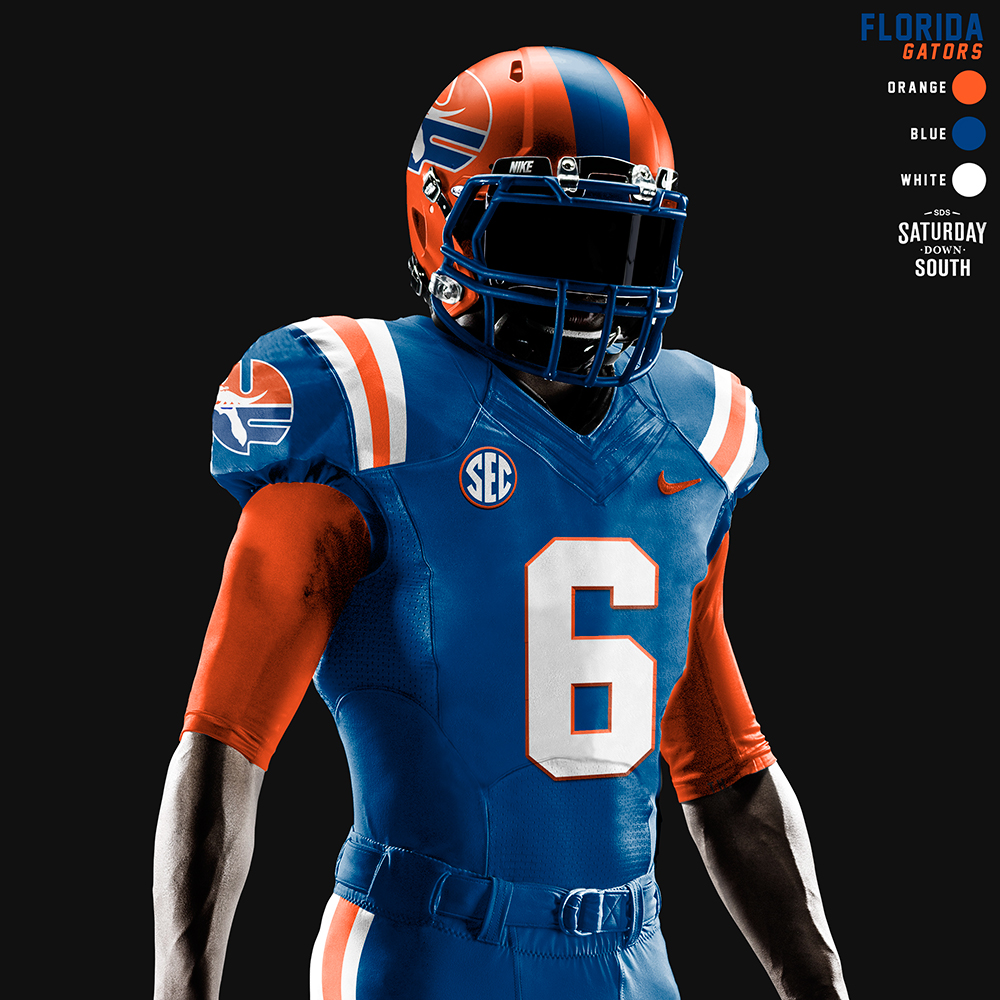Original Uniform Concepts For The Florida Gators