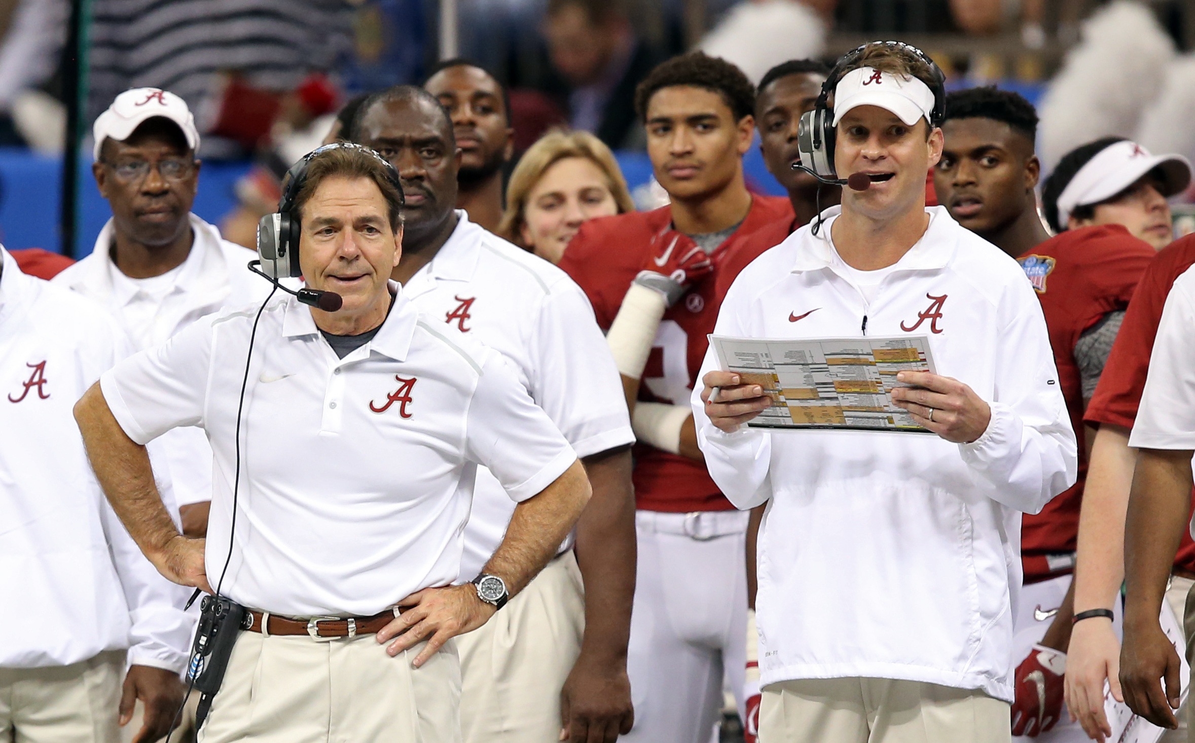 nick saban asked about lane kiffin saying he hasn t had fun at alabama
