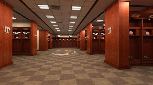 A Look Inside The Sec S Locker Rooms