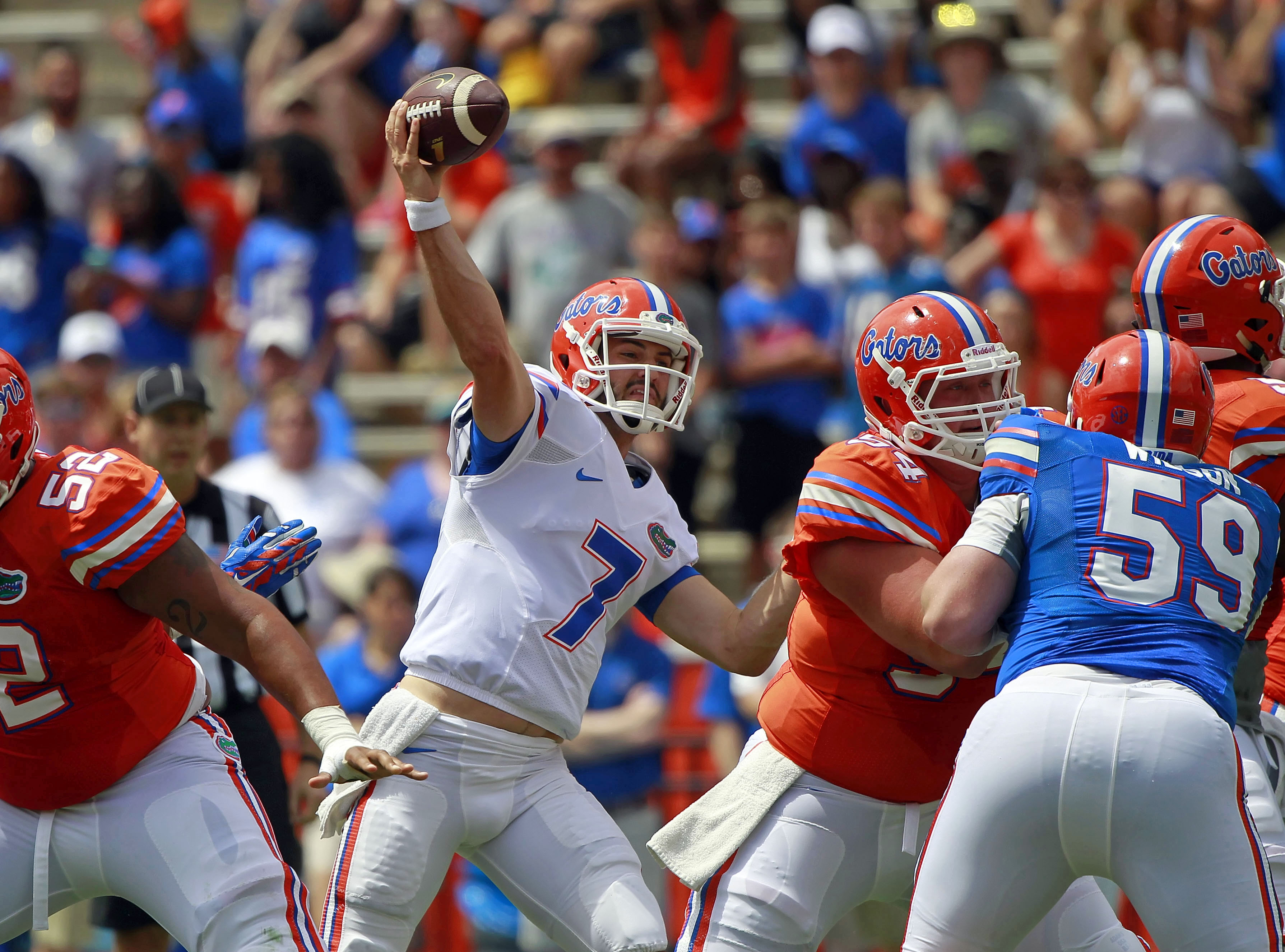 Florida Qb Will Grier Bulked Up To 215 Pounds
