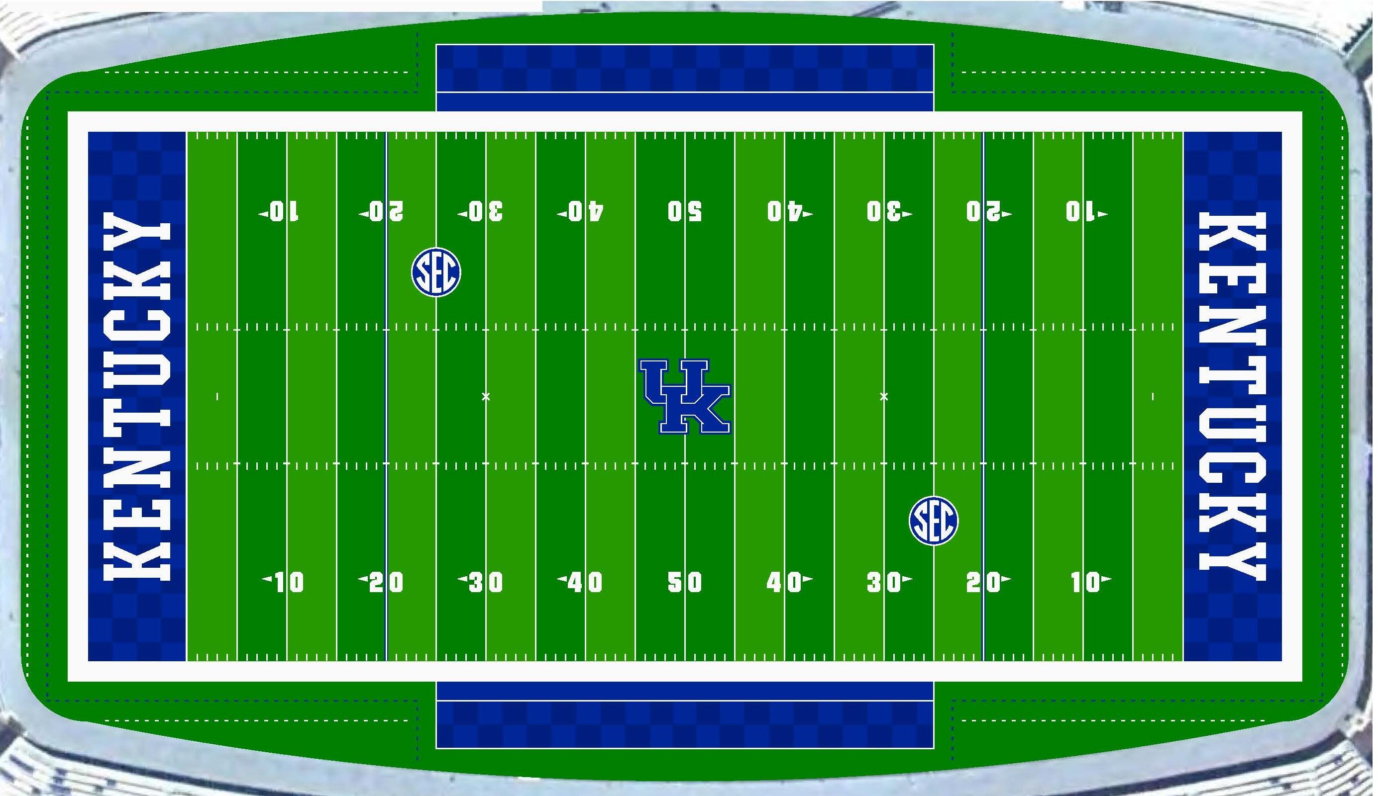 Photo Kentucky Unveils New Field Design