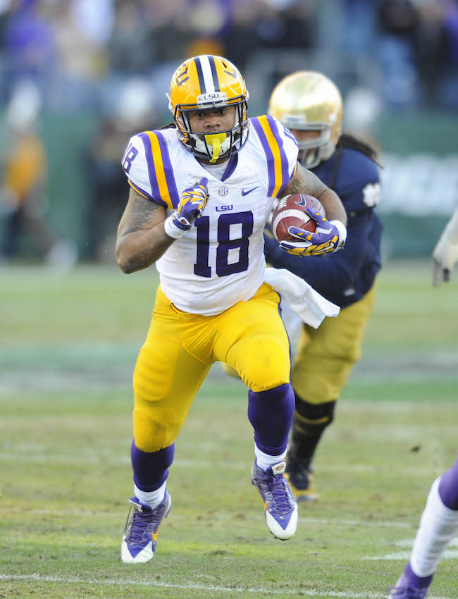 LSU names next player who will wear No. 18 a8602320c