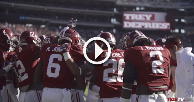 Alabama Football Releases Preseason Hype Video The